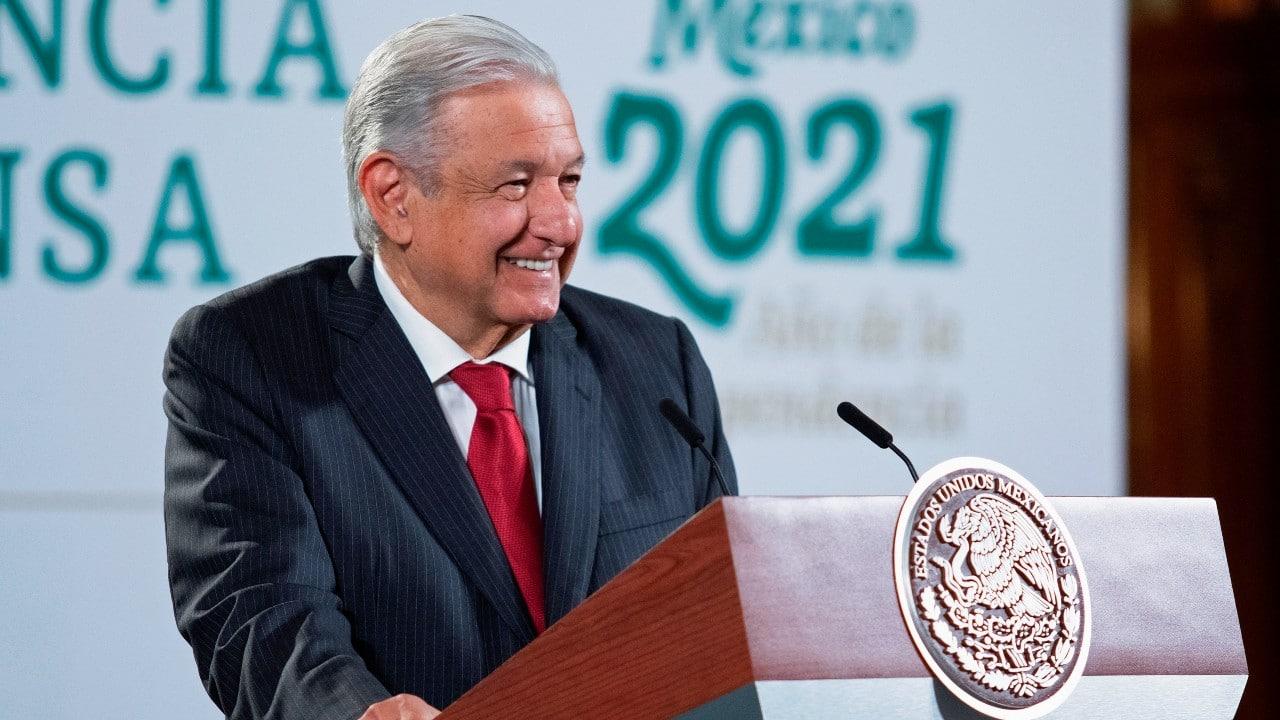 El presidente Andrés Manuel López Obrador (AMLO)