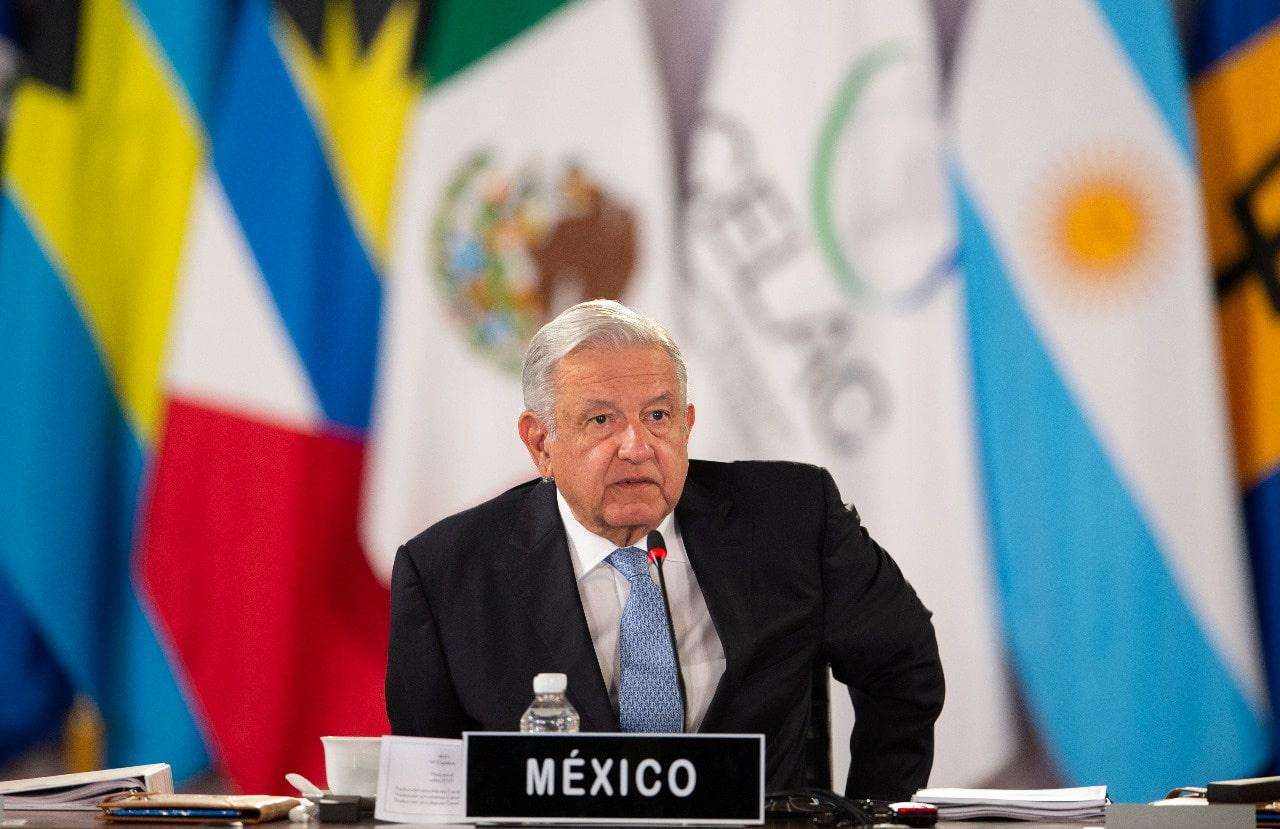 En inauguración de cumbre CELAC, AMLO pide terminar con bloqueos y crear acuerdo con EEUU y Canadá