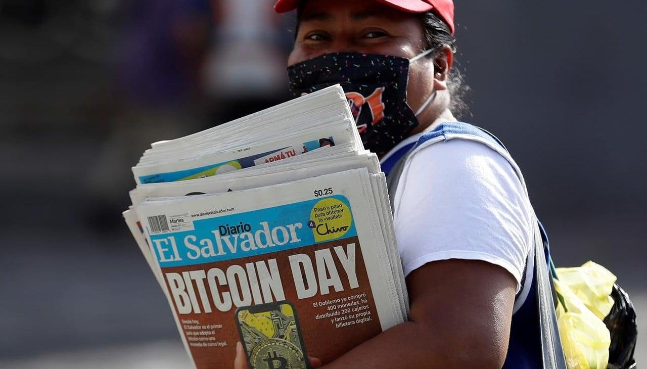 entra en vigor bitcoin el savador