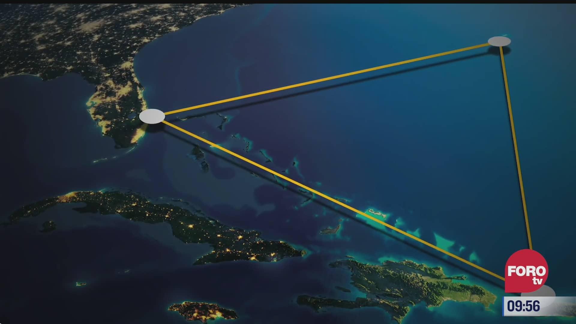 extra extra descubren anomalia en el triangulo de las bermudas