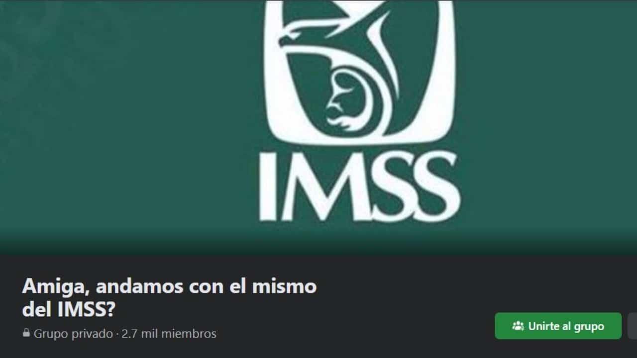 Crean grupo de Facebook para descubrir trabajadores infieles del IMSS