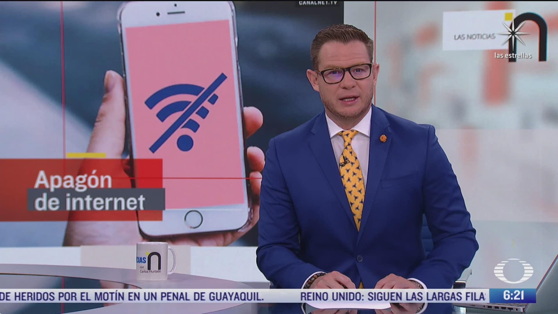 falso que hoy ocurra un apagon de internet