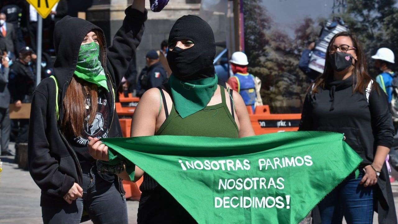 Colectivos a favor de la despenalización del aborto en México (Cuartoscuro)