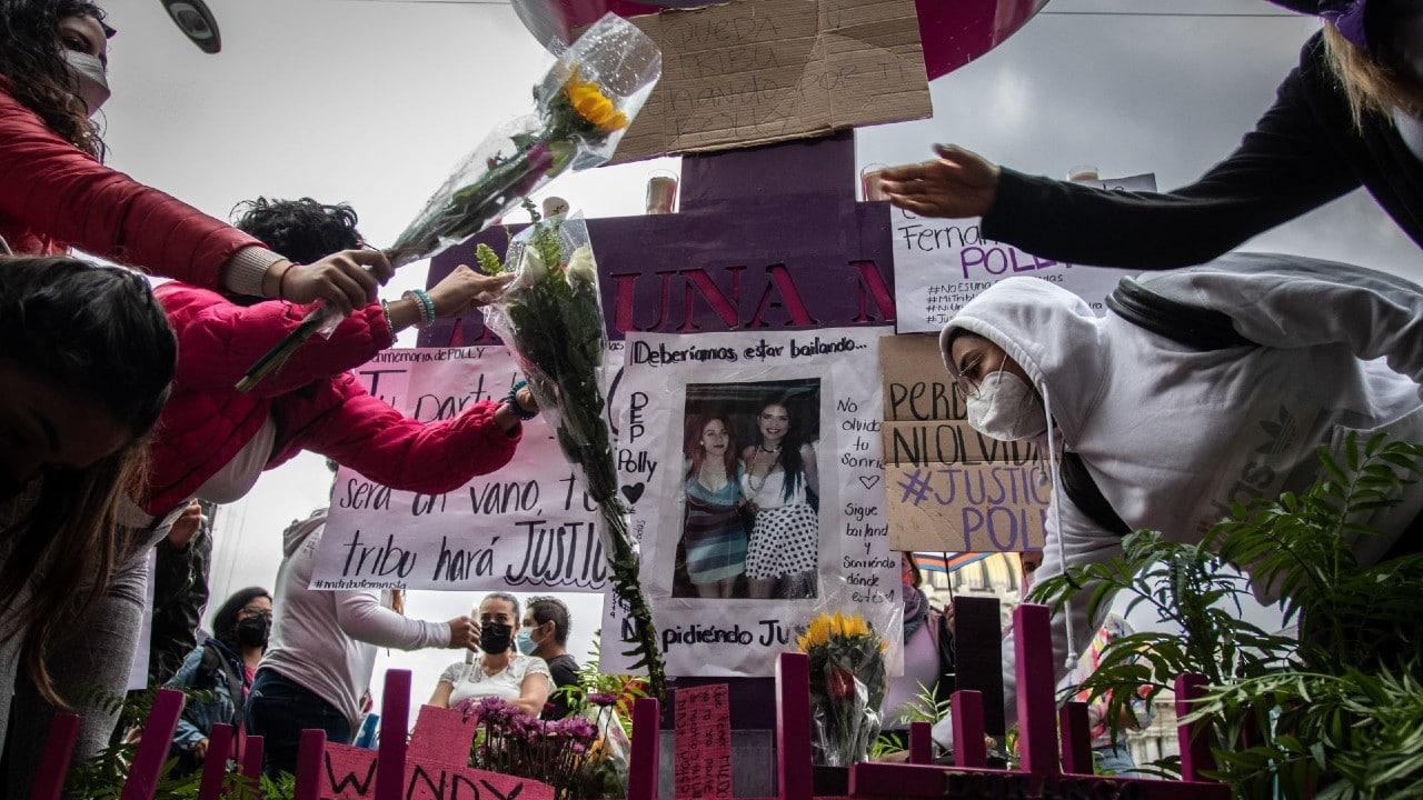 Feministas protestan tras la muerte de 'Polly', atropellada por Diego Armando 'N'