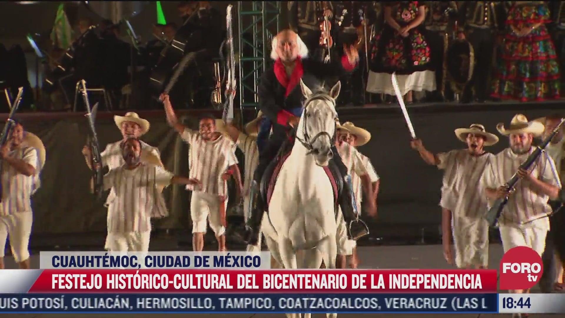 festejo historico cultural del bicentenario de la independencia