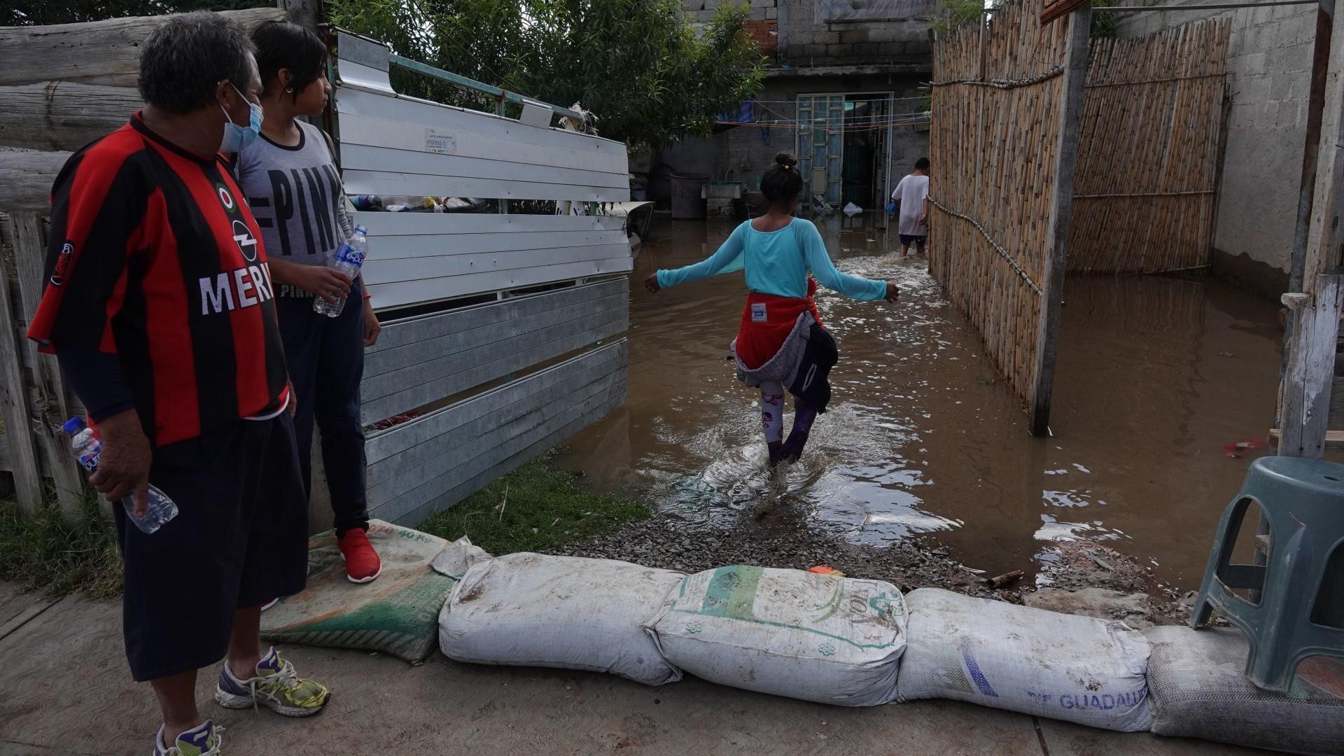Más de 1,500 personas resultaron damnificadas en Tlahuelilpan tras inundaciones