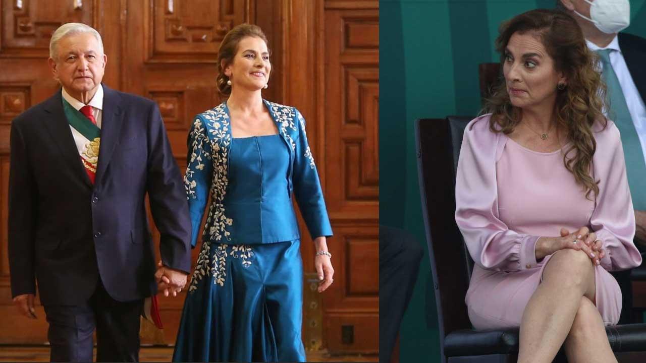 Vestidos usó Beatriz Gutiérrez Grito Independencia Desfile