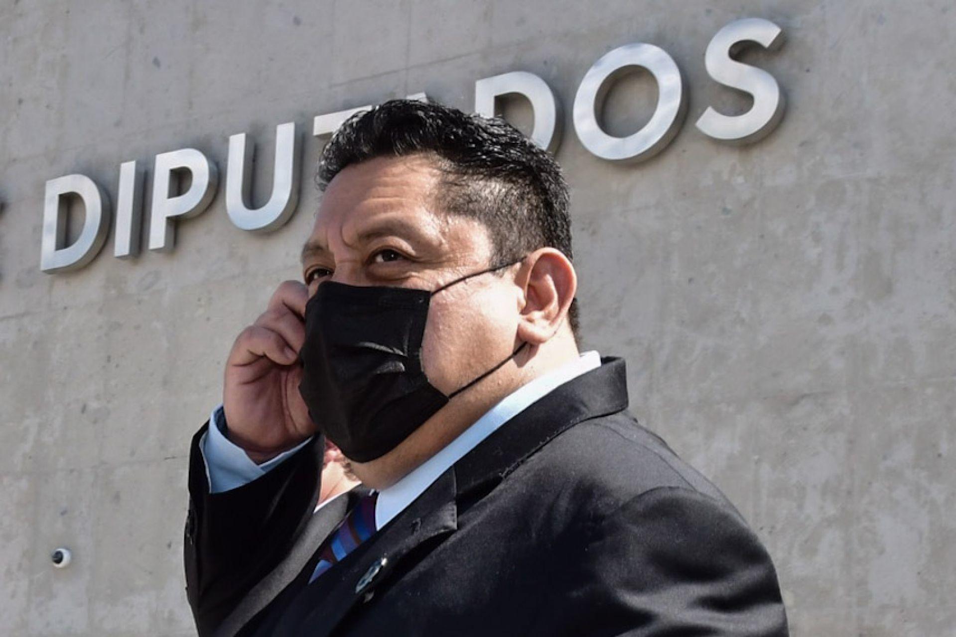 Uriel Carmona Gándara, Fiscal General del Estado de Morelos, acudió a las instalaciones de la Cámara de Diputados (Cuartoscuro)
