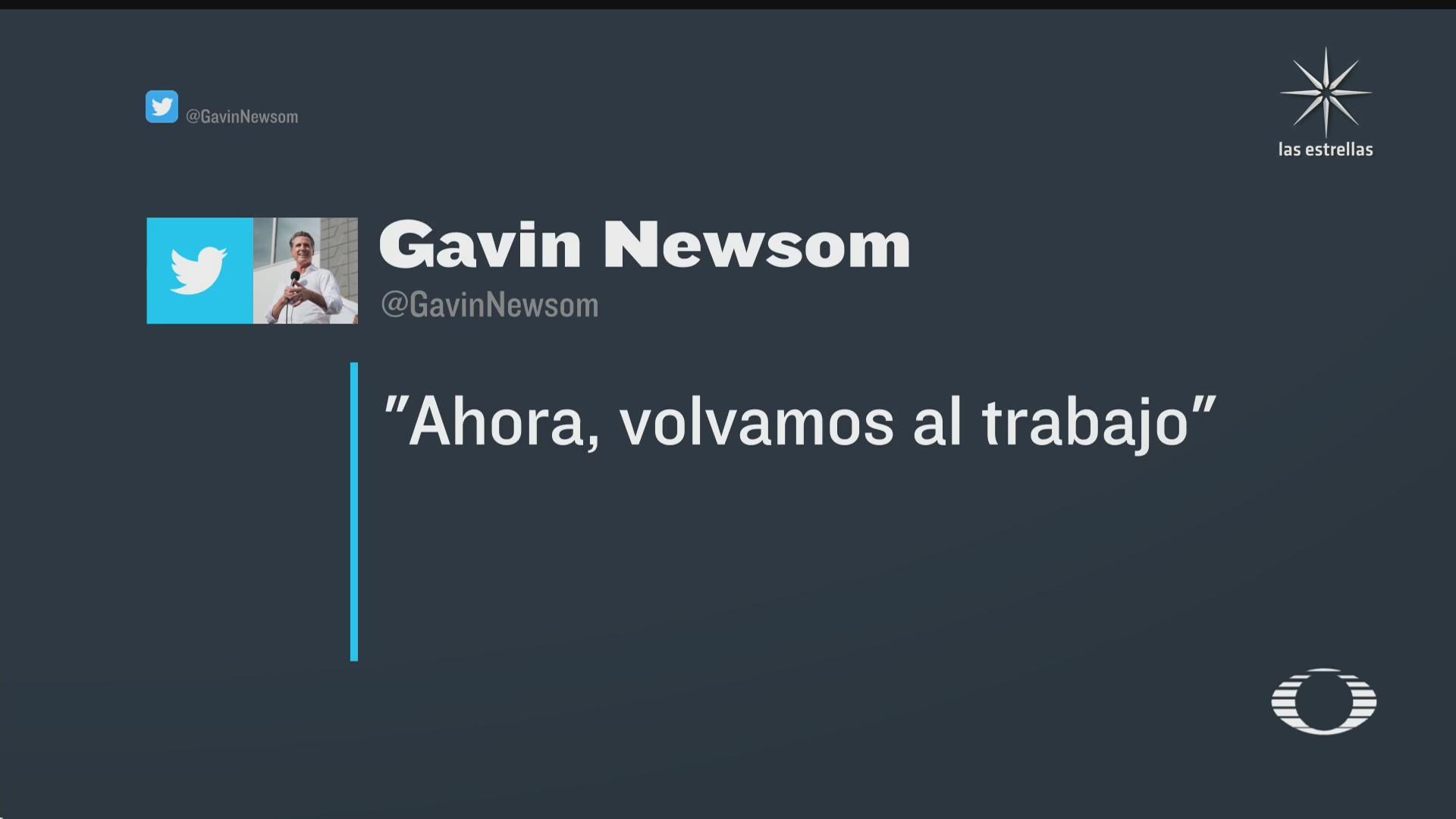 gavin newsom seguira siendo gobernador de california tras ganar revocacion de mandato