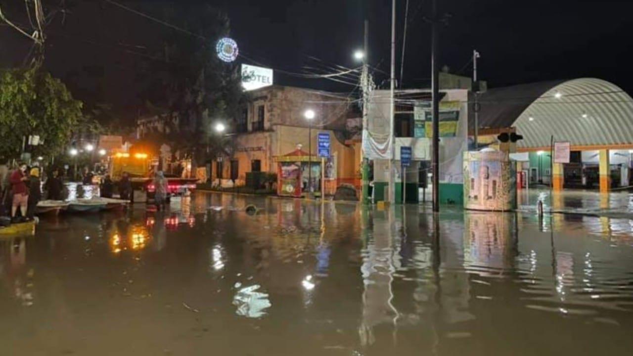 Graves inundaciones en Hidalgo