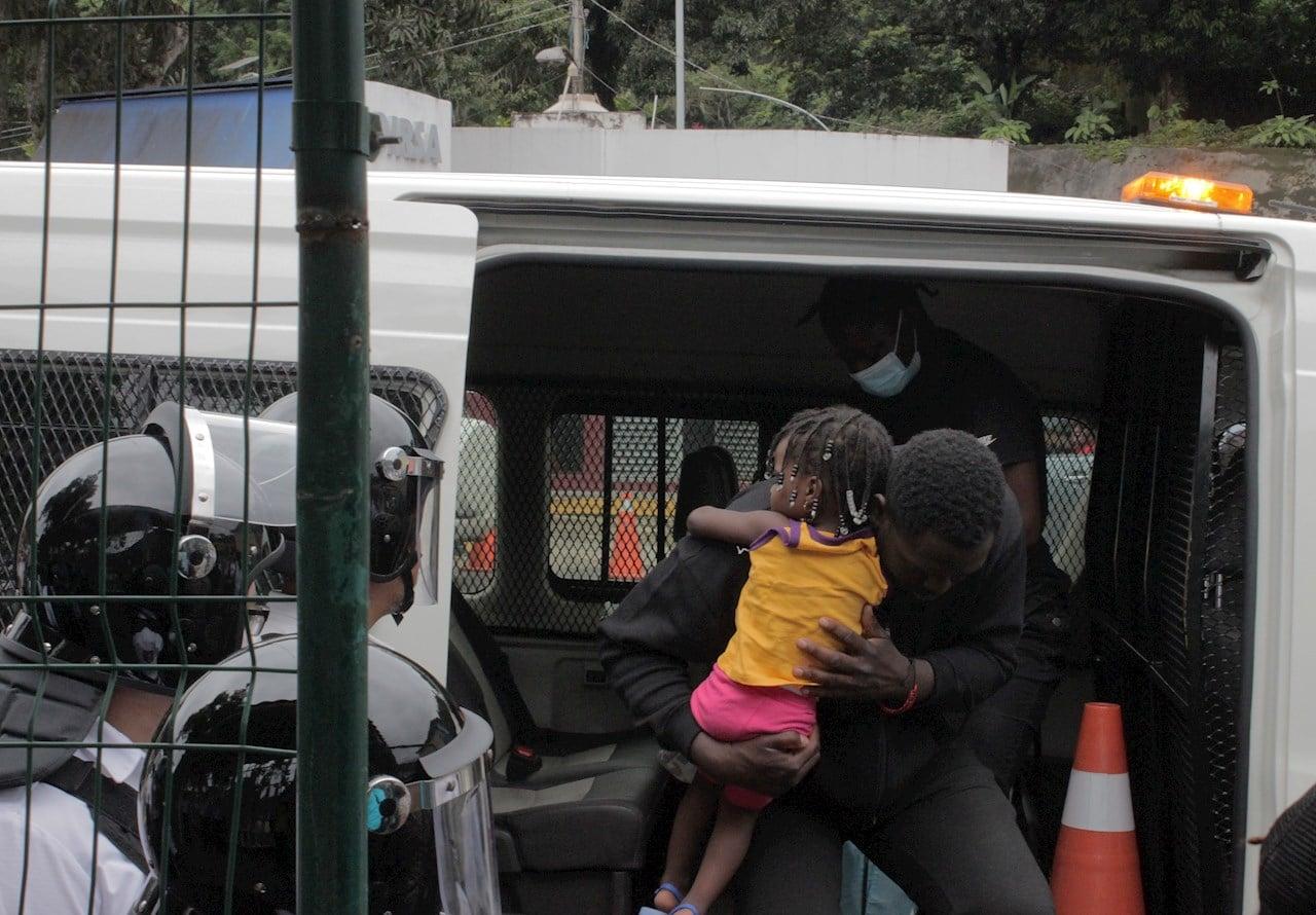Guardia Nacional detiene a 150 migrantes haitianos durante operativo en Chiapas