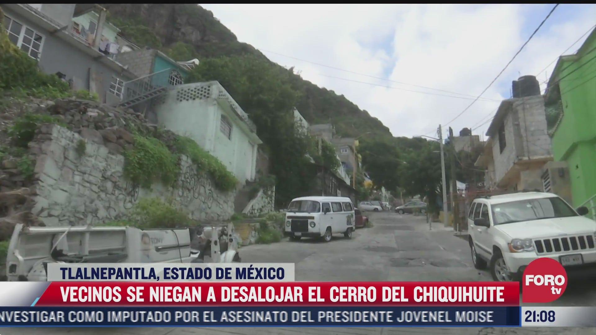 habitantes del barrio huaraches se niegan a dejar sus hogares pese al deslave del cerro de chiquihuite