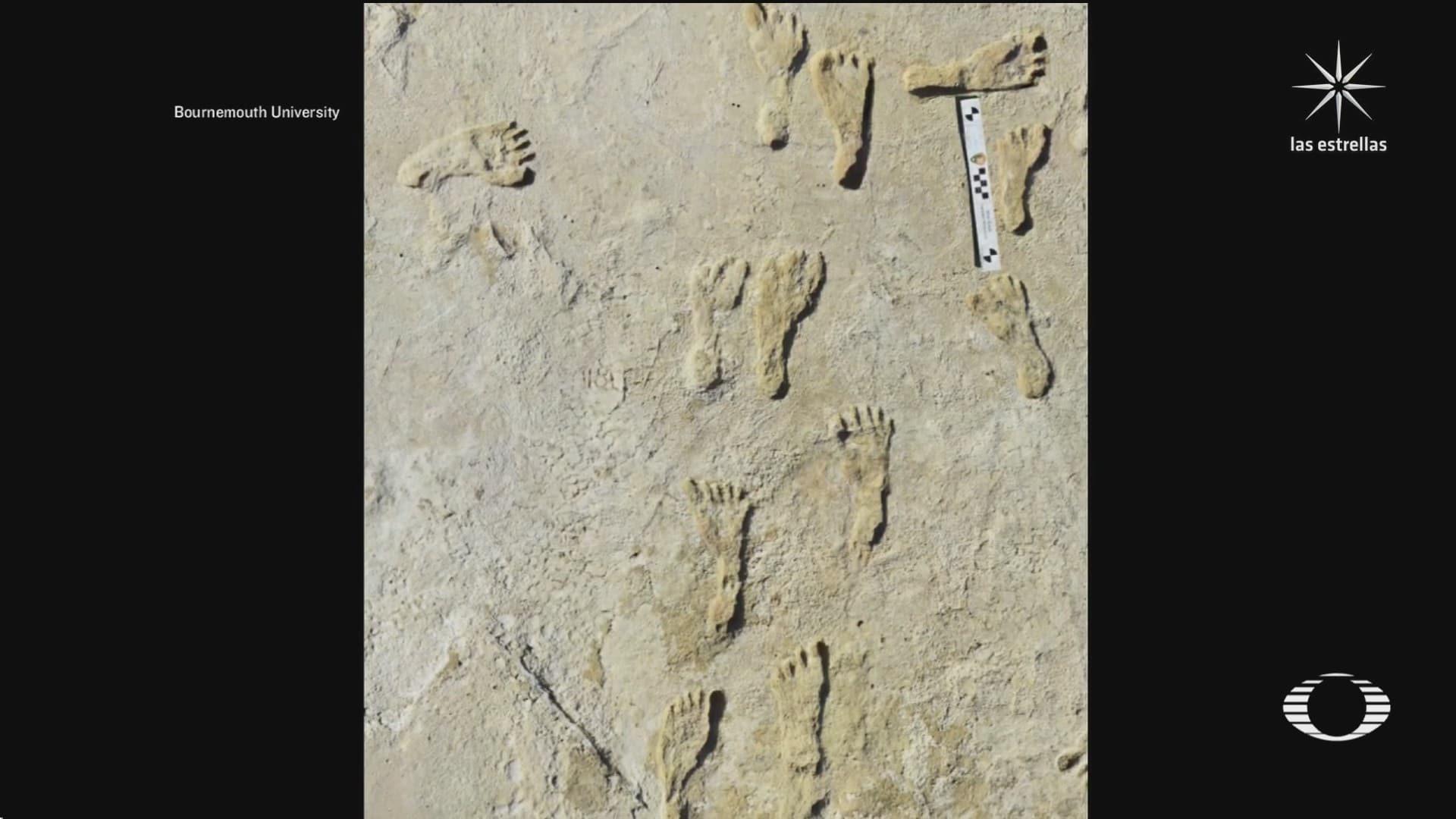 hallan huellas humanas mas antiguas de america