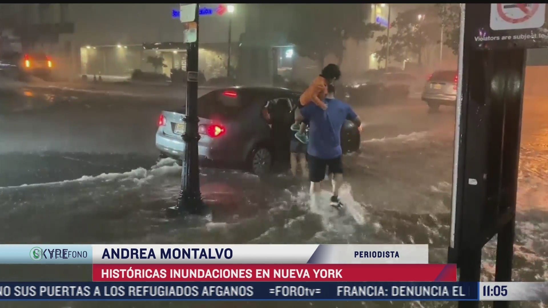 historicas inundaciones en nueva york