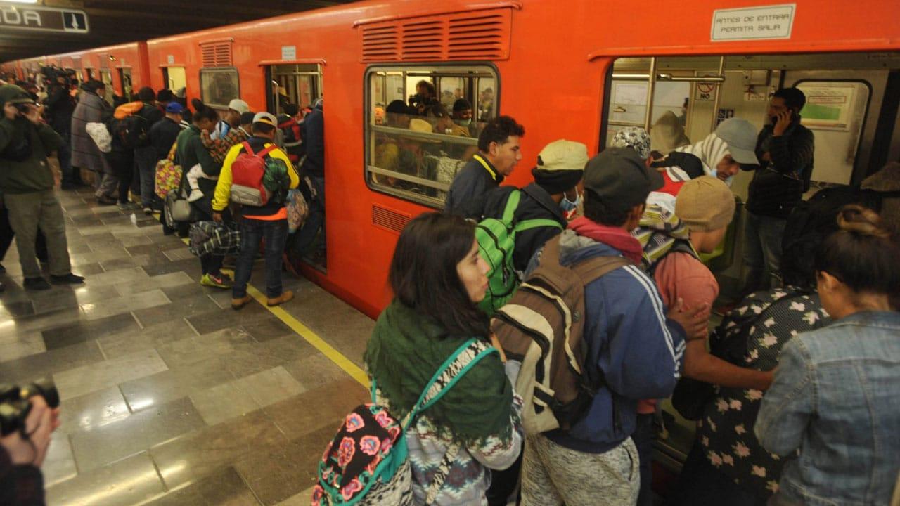 A que hora comienza el servicio en las líneas del metro CDMX
