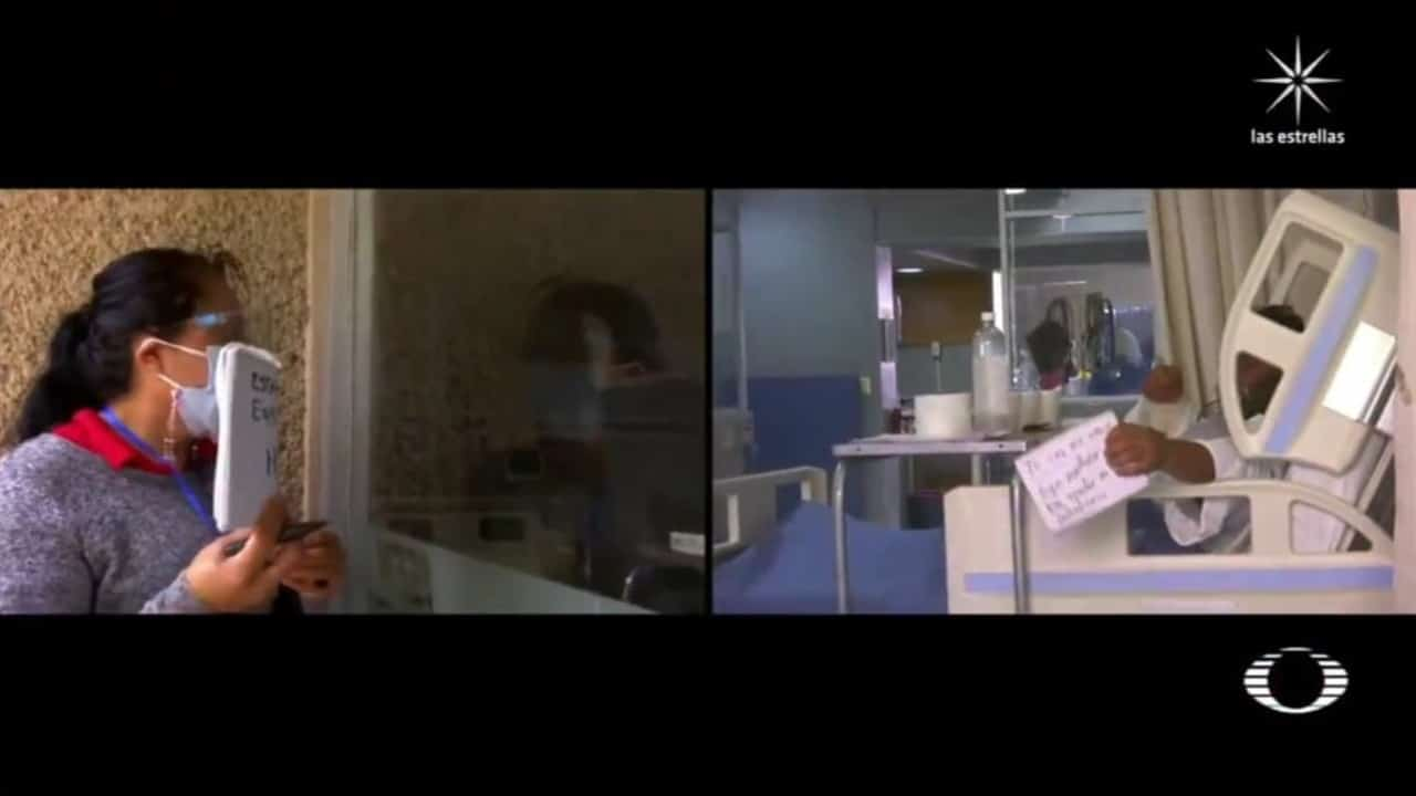 Hospital La Perla, en Edomex permite a pacientes COVID comunicarse con familiares