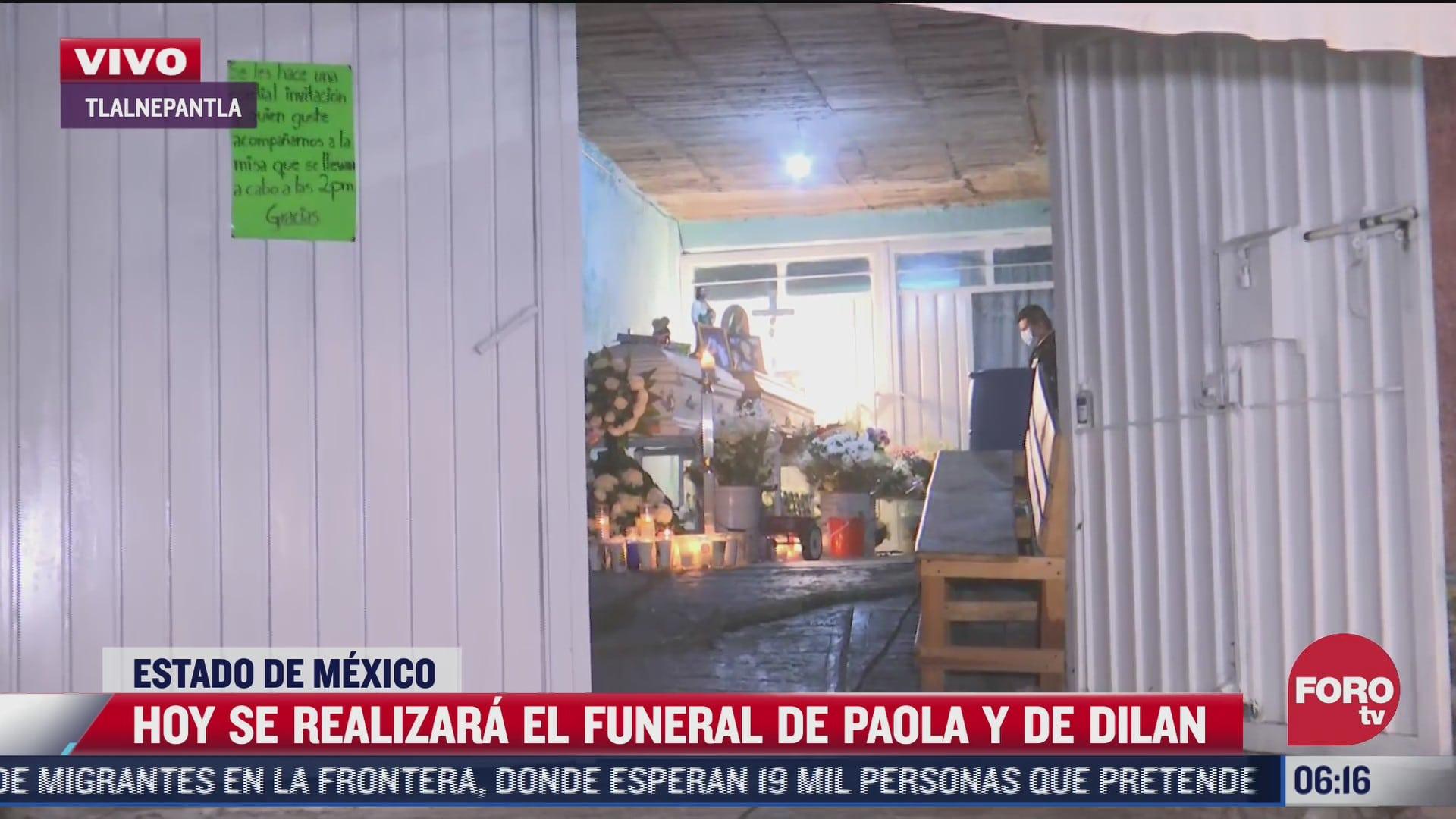 hoy sepultan a paola y dylan madre e hijo hallados bajo escombros del cerro del chiquihuite