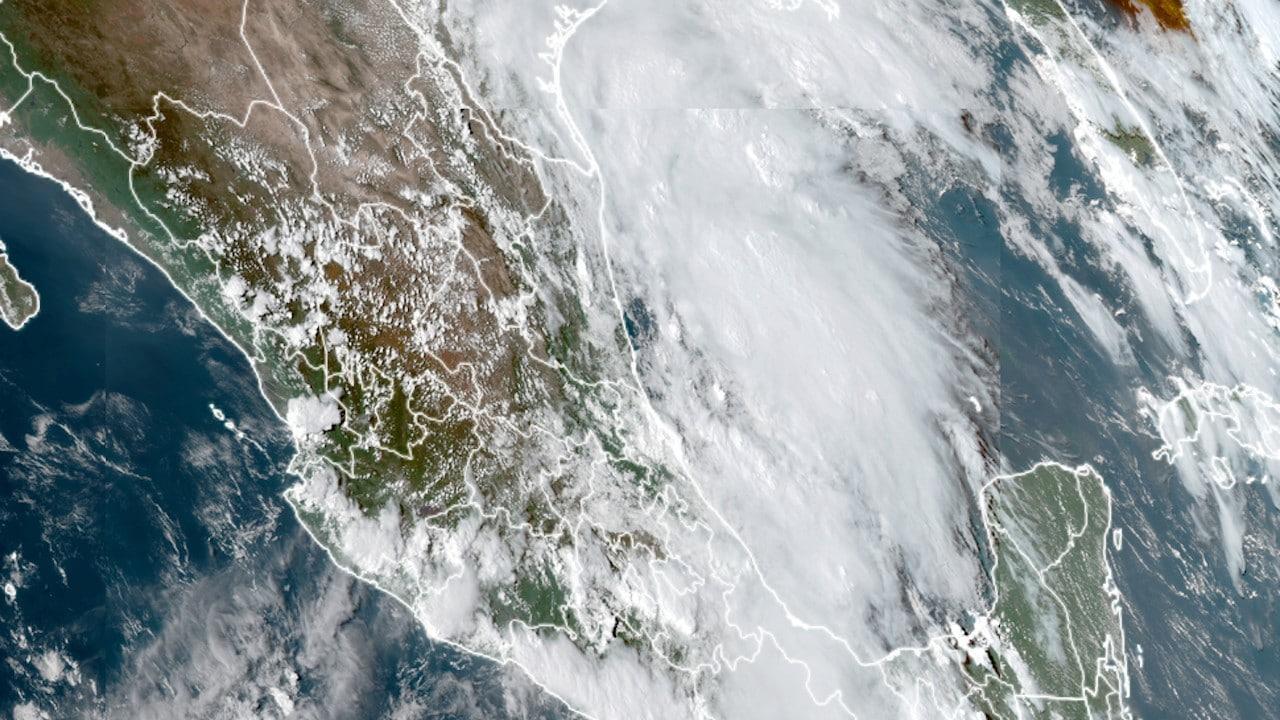 La tormenta tropical Nicholas (Imagen: rammb-slider.cira)