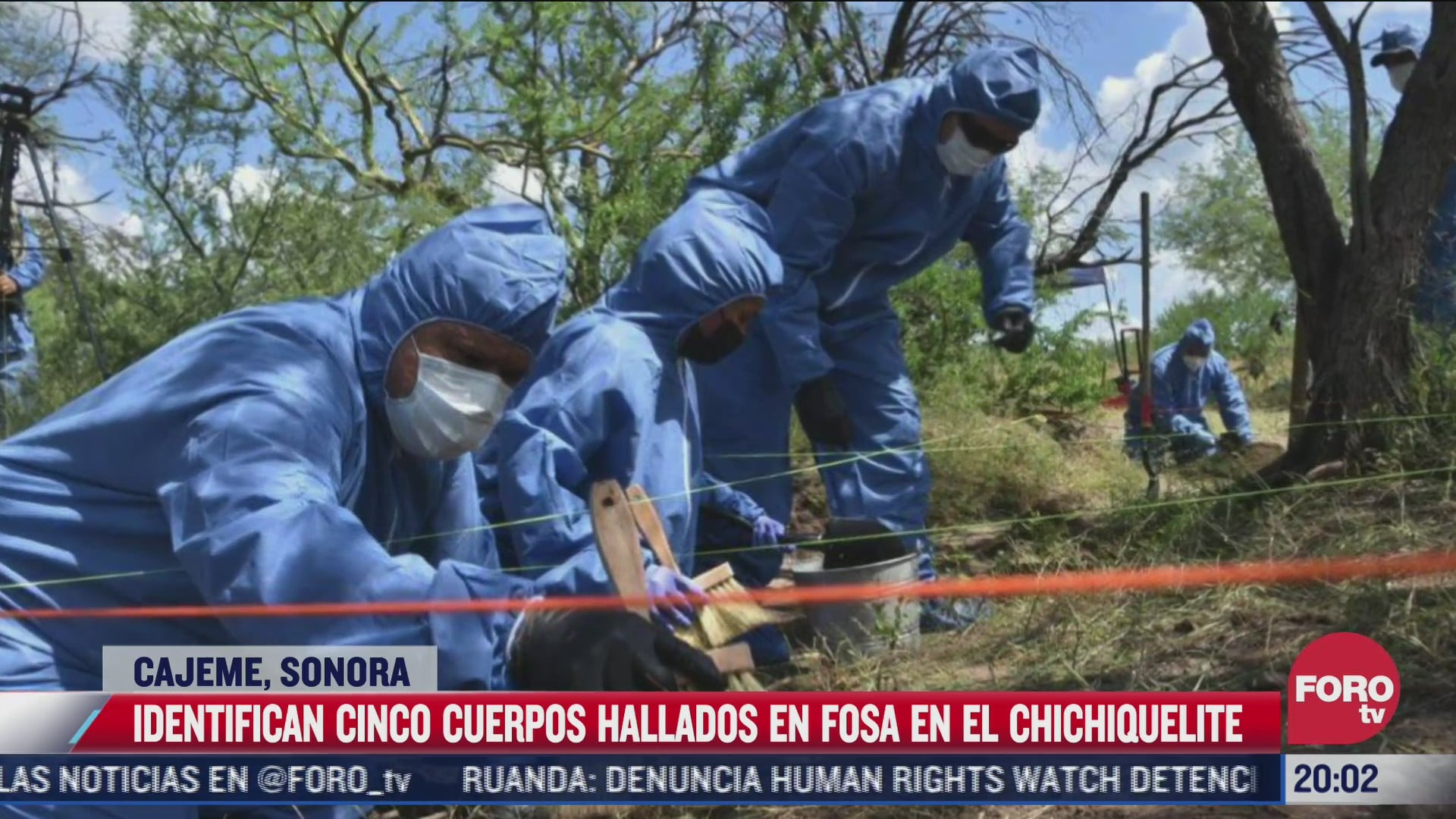 identifican cinco cuerpos hallados en fosa de cajeme sonora