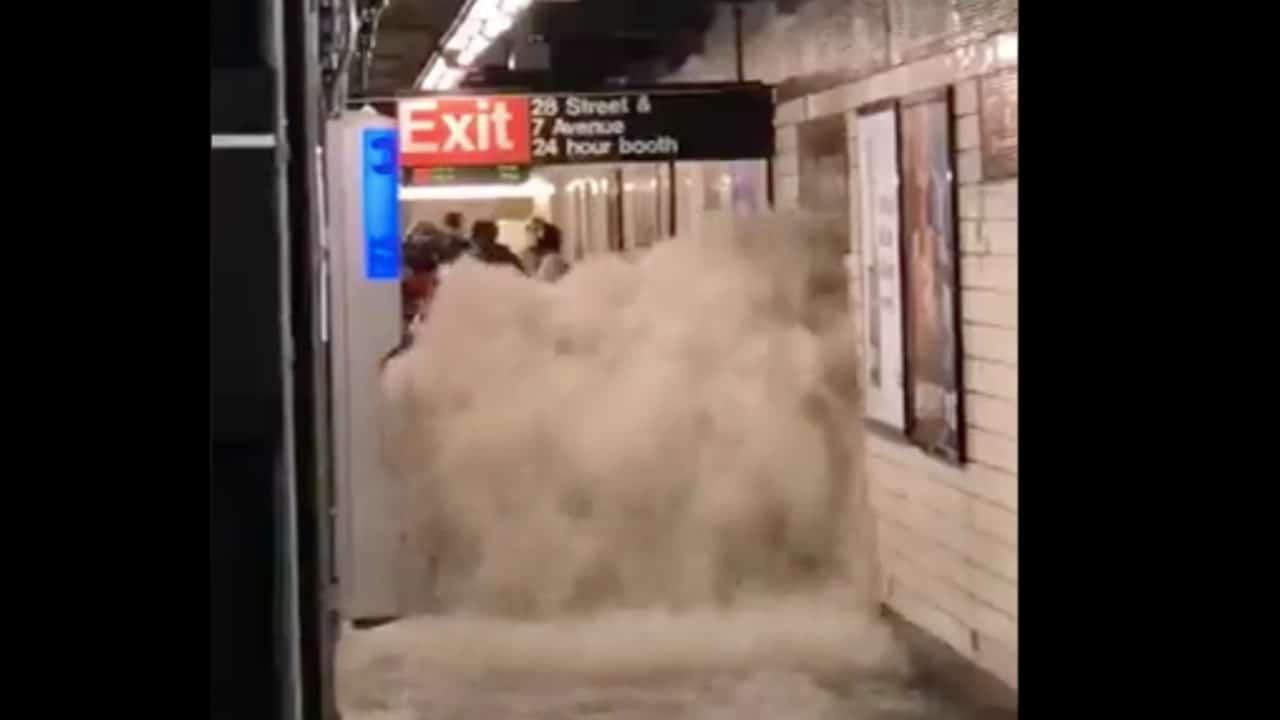 Inauditas imágenes de inundaciones en Nueva York por Ida – Noticieros  Televisa