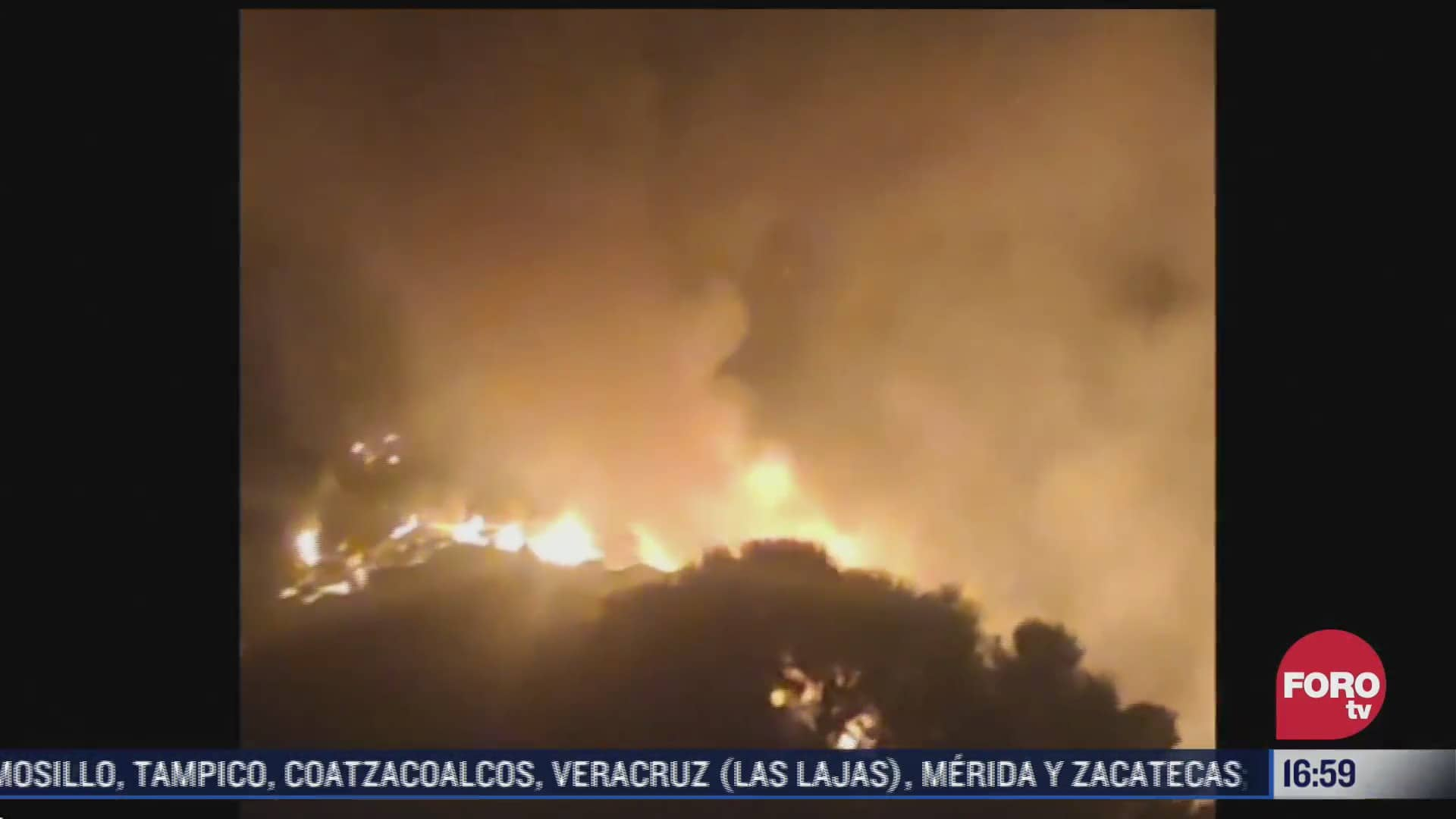 incendio consume mas de 6 mil hectareas de bosque