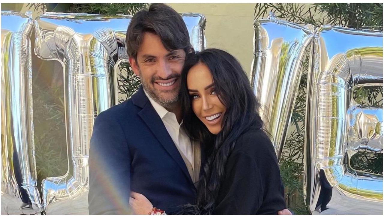La conductora Inés Gómez Mont y su marido, Víctor Manuel Álvarez Puga (Instagram)