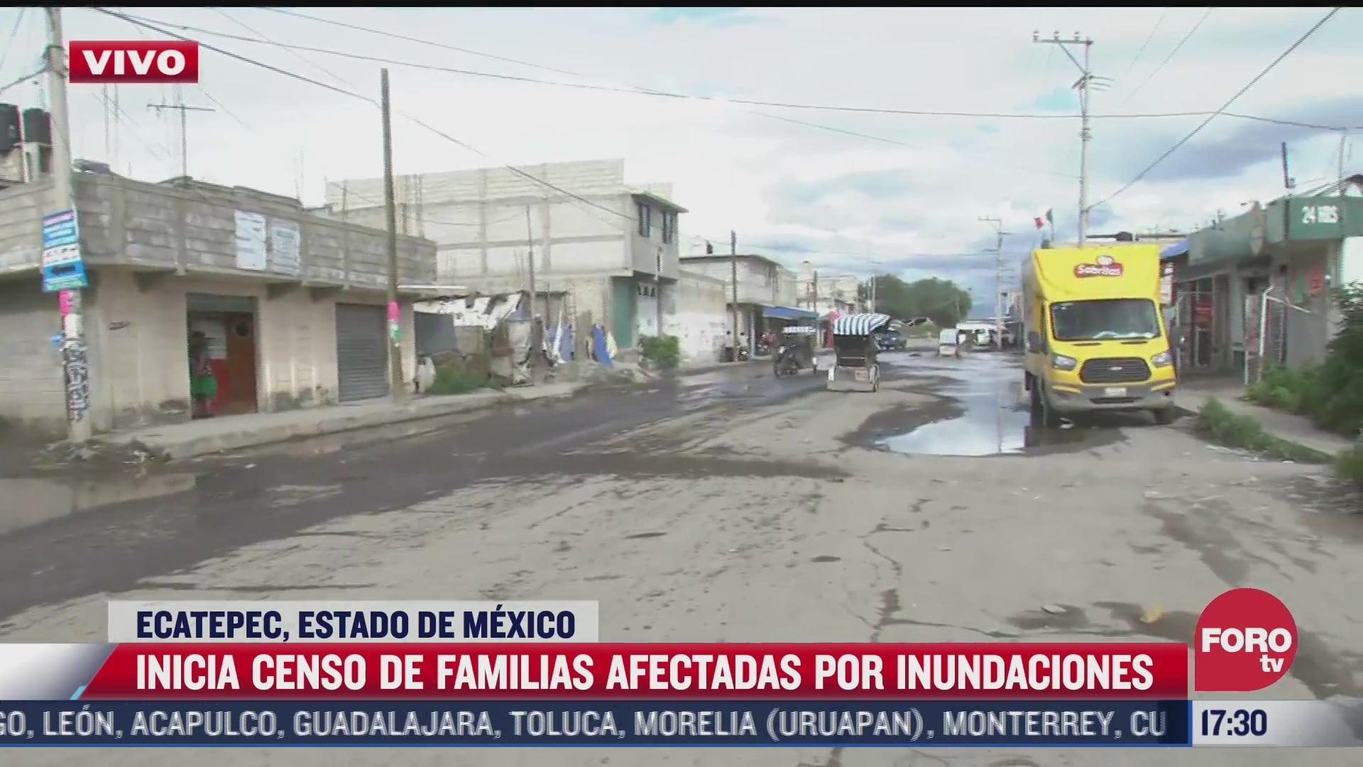 inician censo de familias afectadas por inundaciones en ecatepec