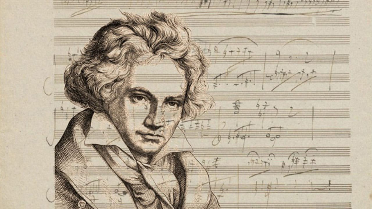 Inteligencia Artificial sinfonía inconclusa de Beethoven