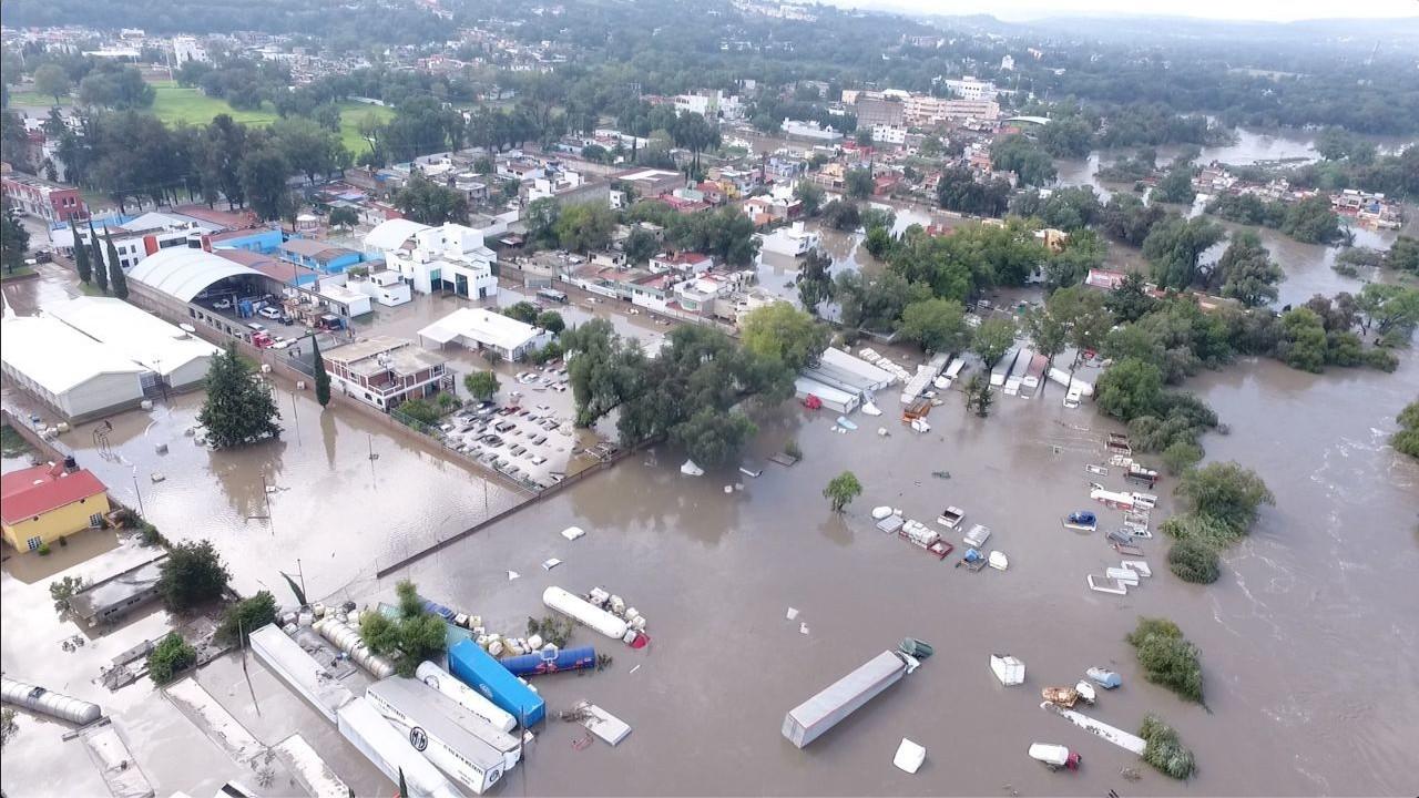 Inundaciones en Tula, Hidalgo