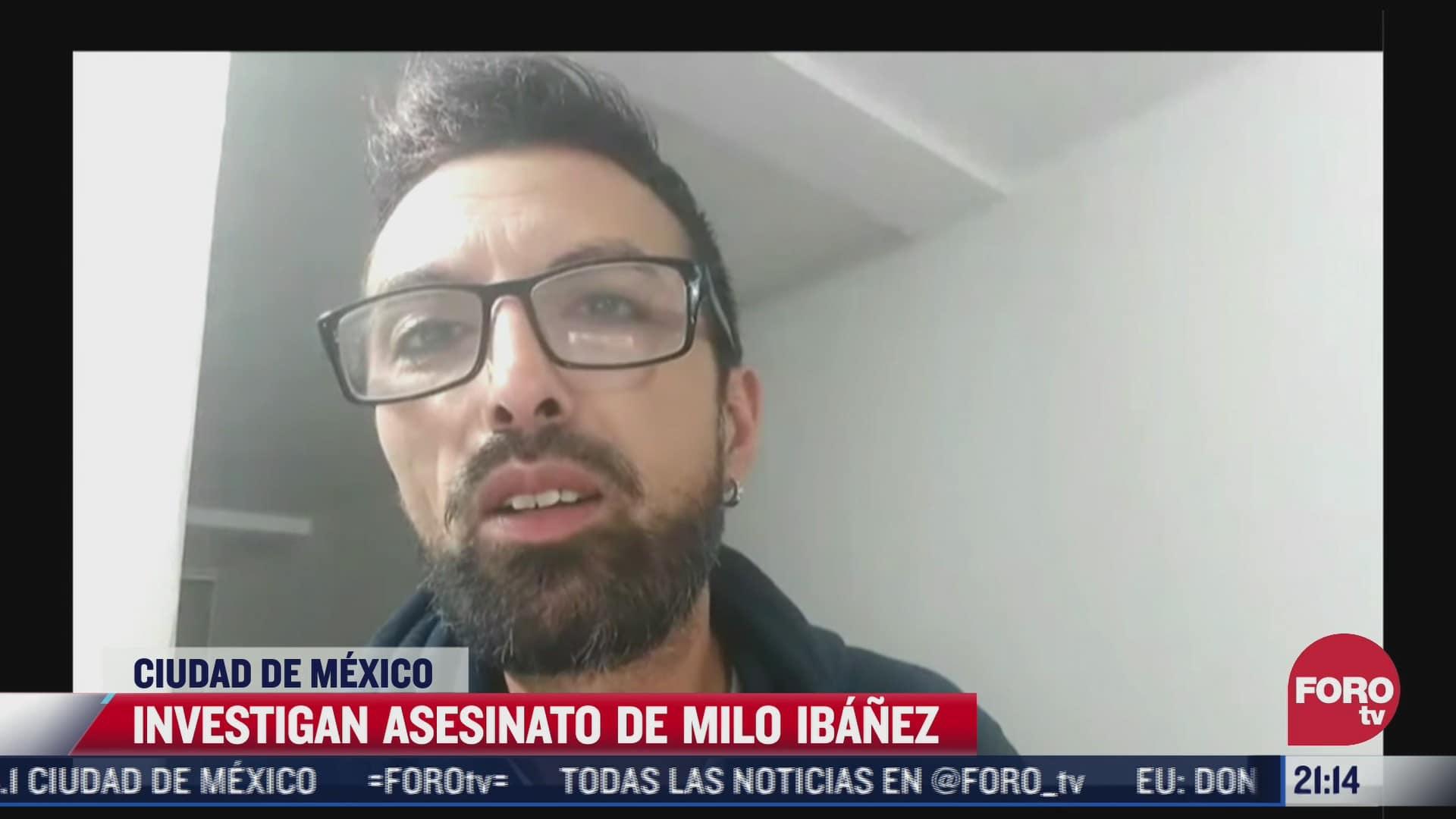 investigan asesinato de youtuber milo ibanez