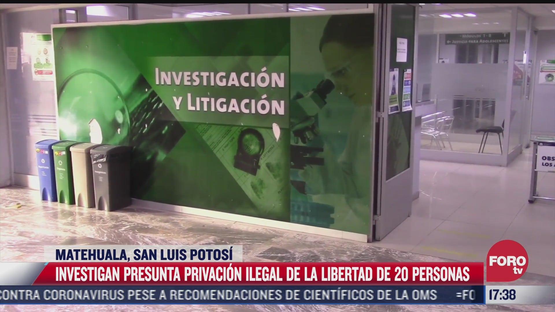 investigan presunto secuestro de al menos 20 extranjeros en san luis potosi