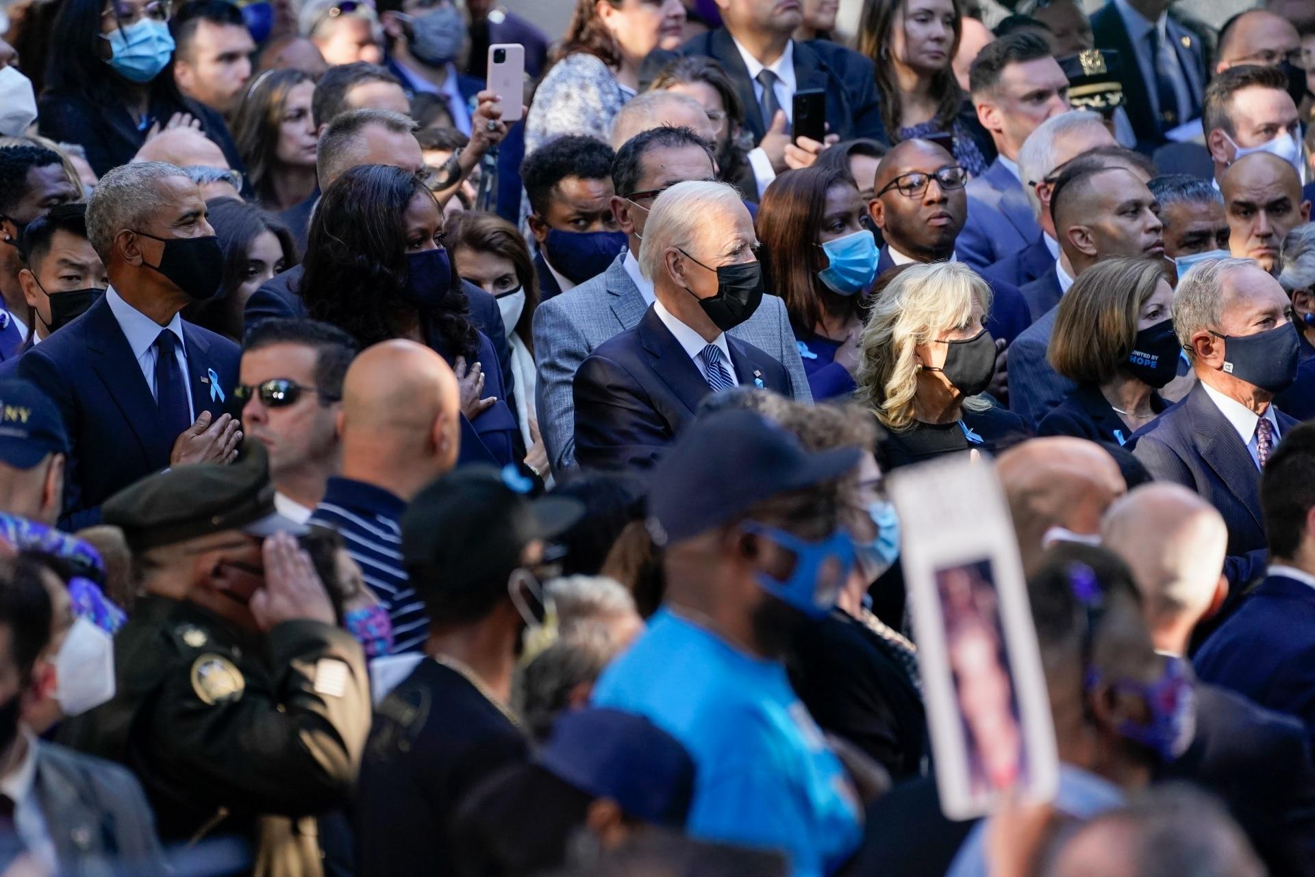 Con la presencia del presidente de Estados Unidos, Joe Biden, este sábado dieron inicio a la conmemoración de los atentados del 11 de septiembre de 2001.