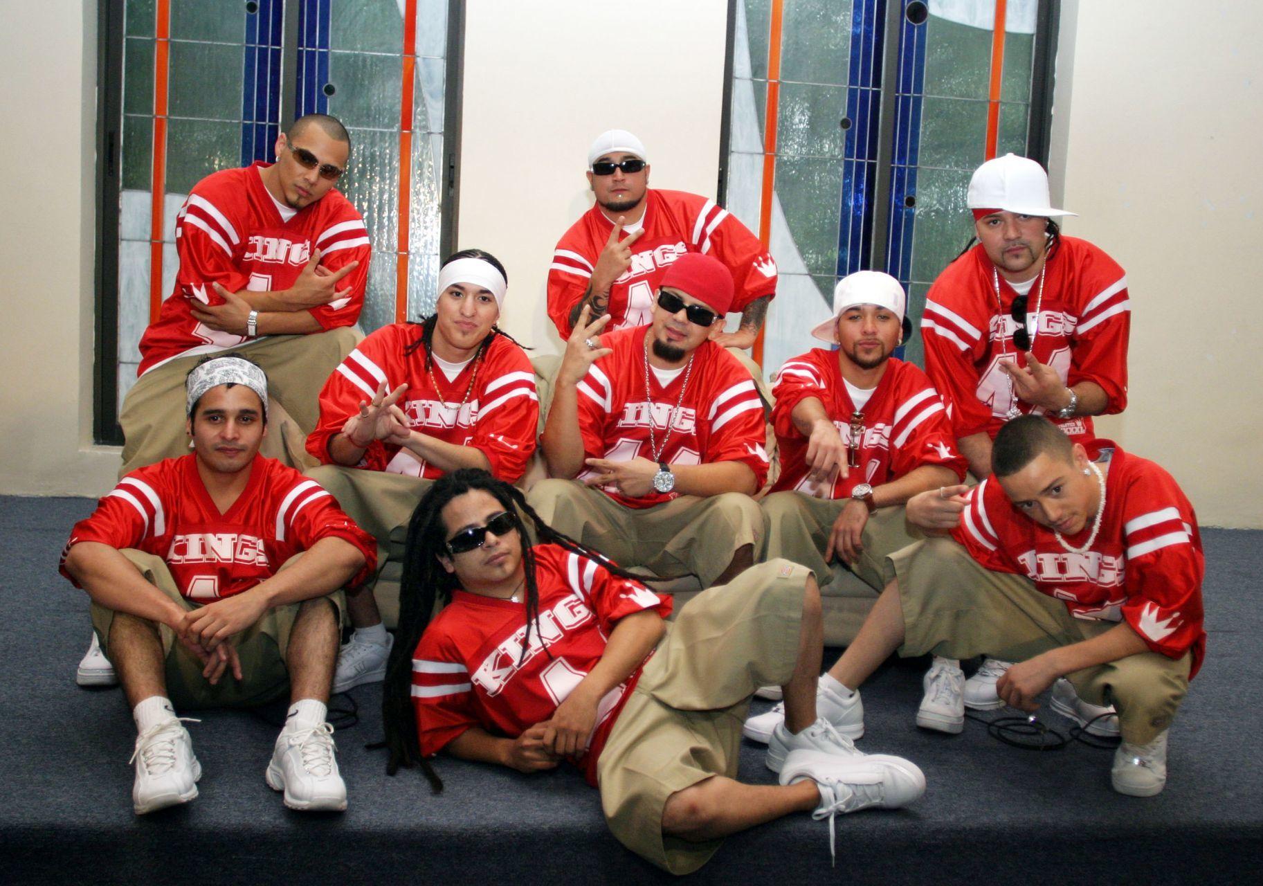 El grupo mexicoamericano, Kumbia Kings en 2005 (Cuartoscuro)