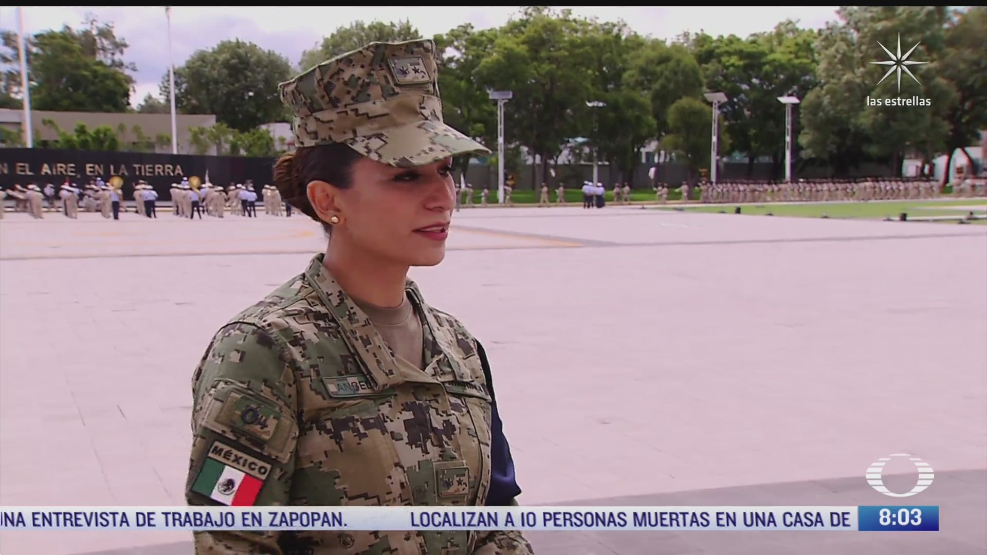 la participacion de las mujeres en los desfiles militares del 16 de septiembre
