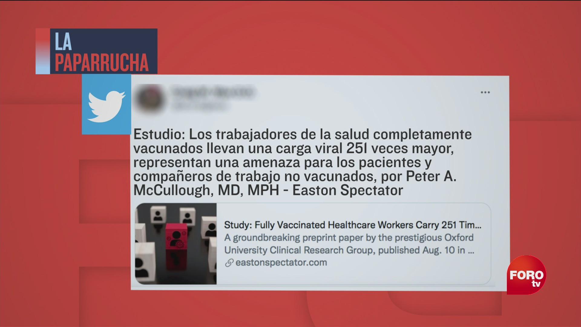 las personas vacunadas contra covid 19 llevan el virus en las fosas nasales la paparrucha del dia