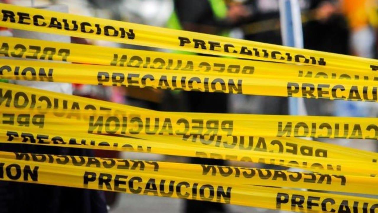 Letreros de precaución.
