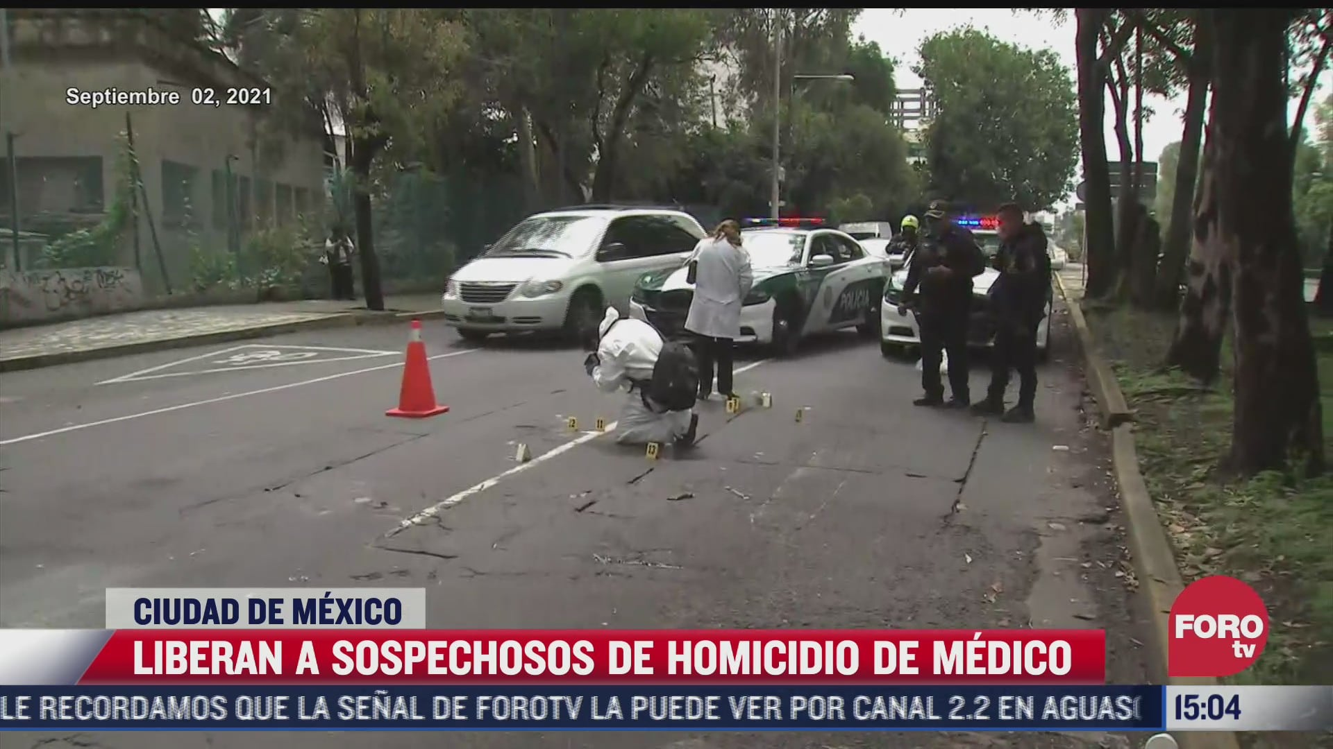 liberan a sospechosos de homicidio de medico en coyoacan