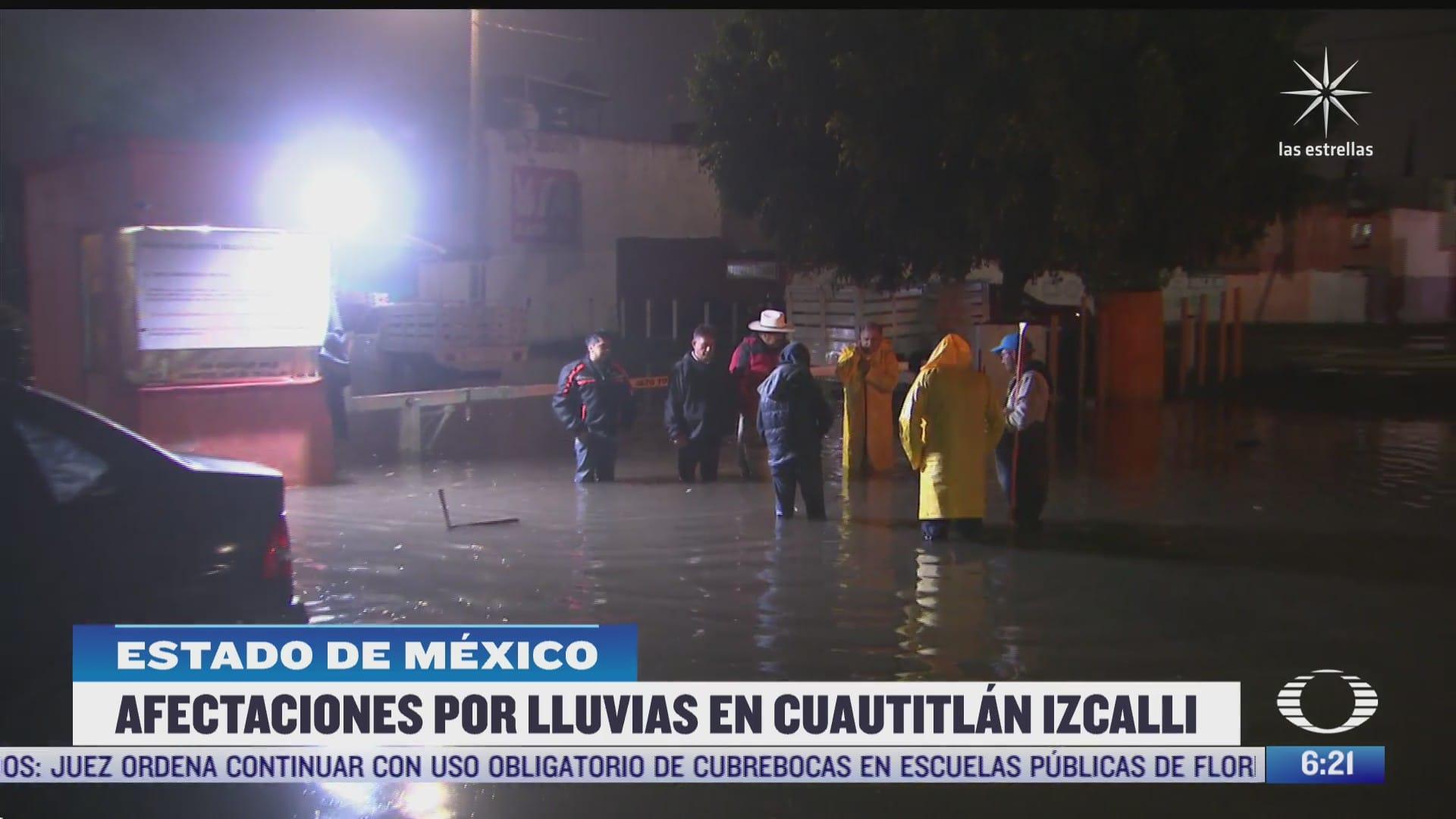 lluvias afectan 10 colonias en cuautitlan izcalli estado de mexico