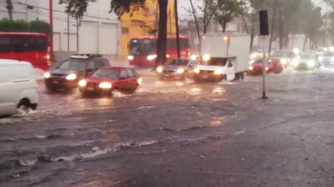Lluvias intensas afectan Guadalajara y Zapopan, Jalisco