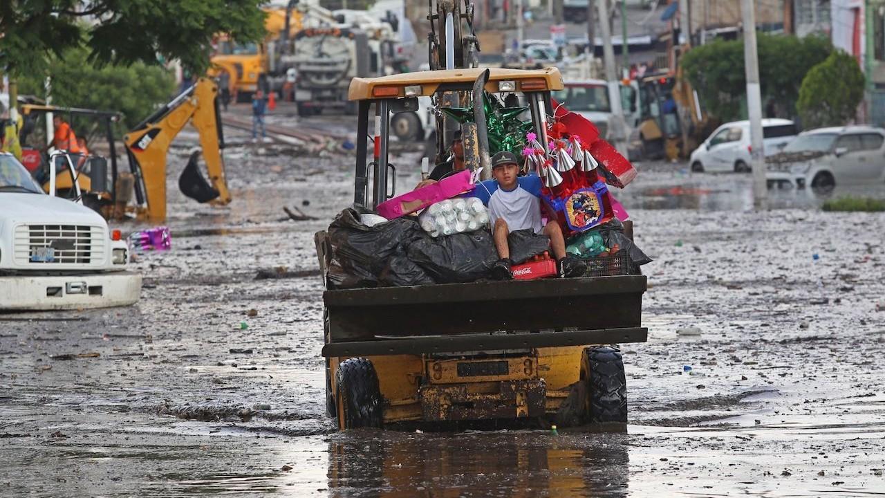 Zonas afectadas por lluvias en Jalisco (Cuartoscuro)