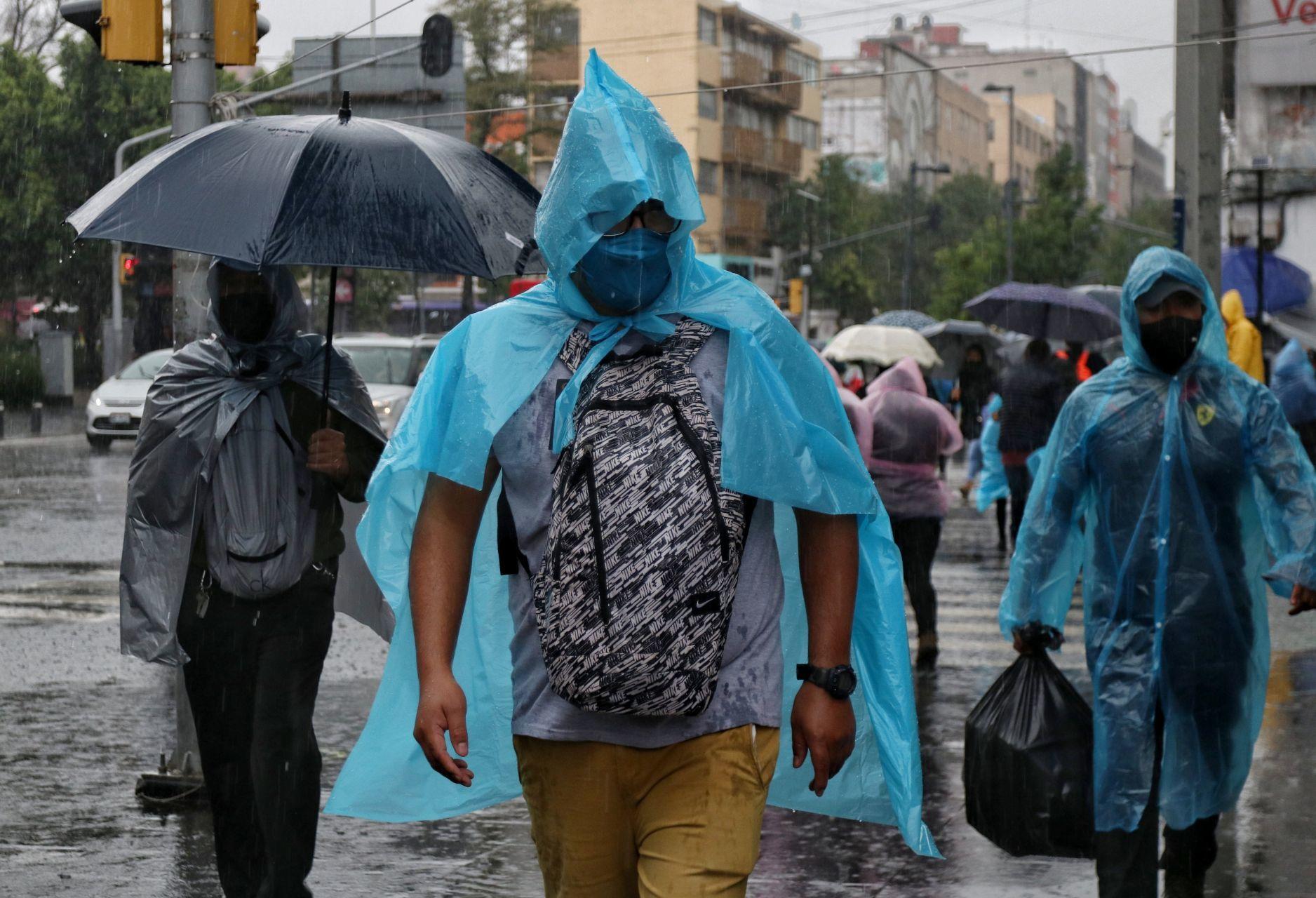 Continúan las lluvias en la Zona Centro de la Ciudad de México (Cuartoscuro)