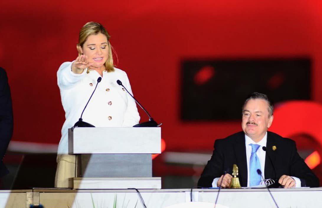María Eugenia Campos toma protesta como gobernadora de Chihuahua