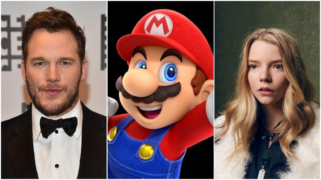 Mario Bros Chris Pratt Anya Taylor-Joy