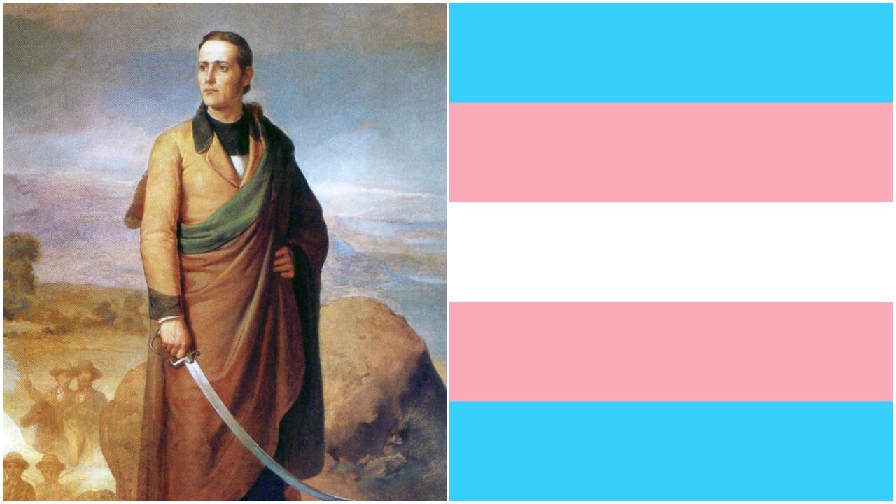 Mariano Matamoros, bandera trans, transgénero, hombre trans, historia