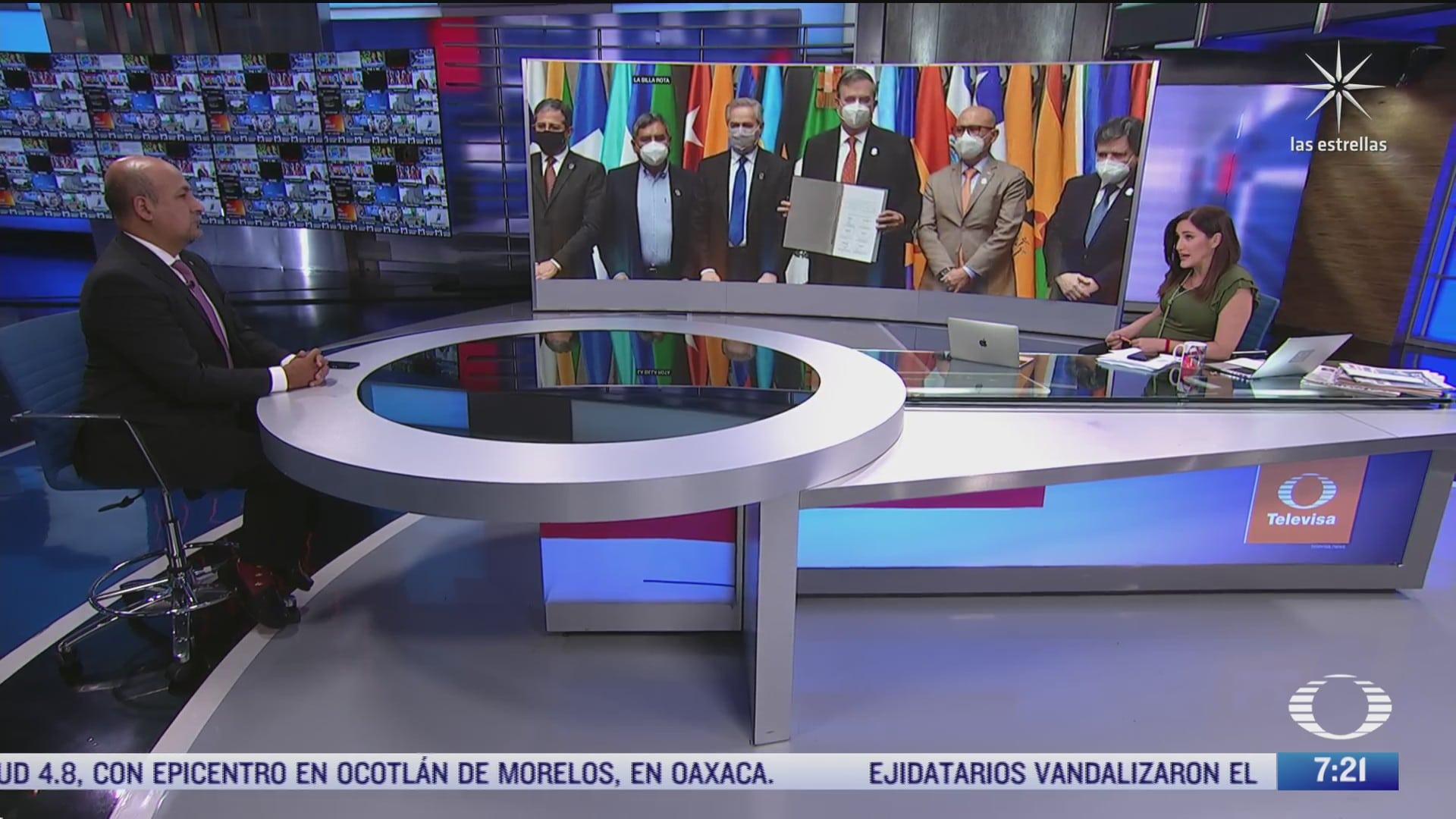 maximiliano reyes subsecretario para america latina y el caribe de la sre en entrevista para despierta