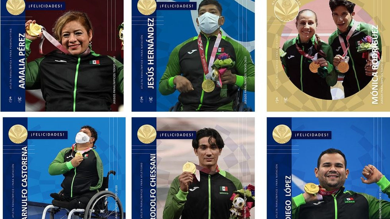 México suma 21 medallas en Juegos Paralímpicos deTokyo 2020.