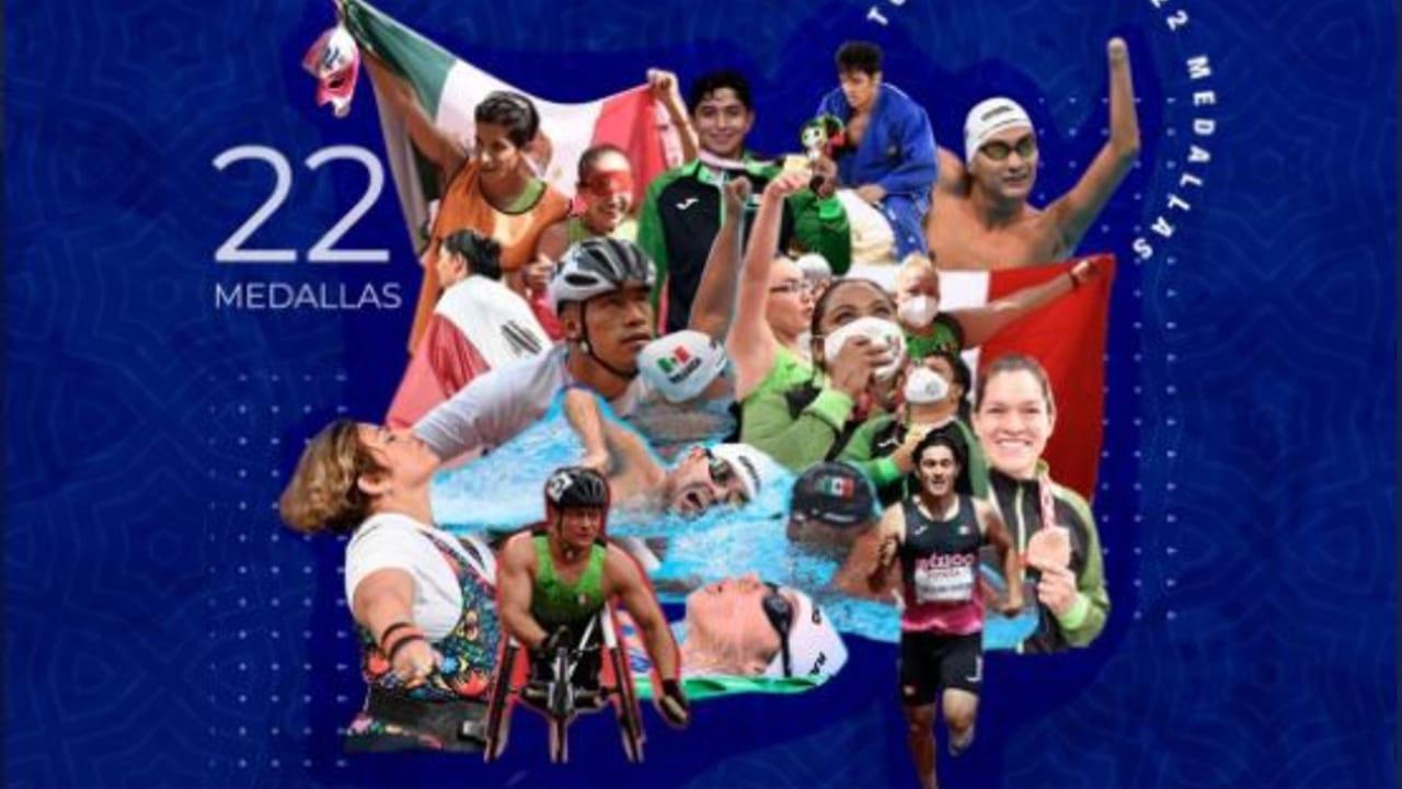 México cierra su participación enJuegos ParalímpicosdeTokyo 2020con 22 medallas