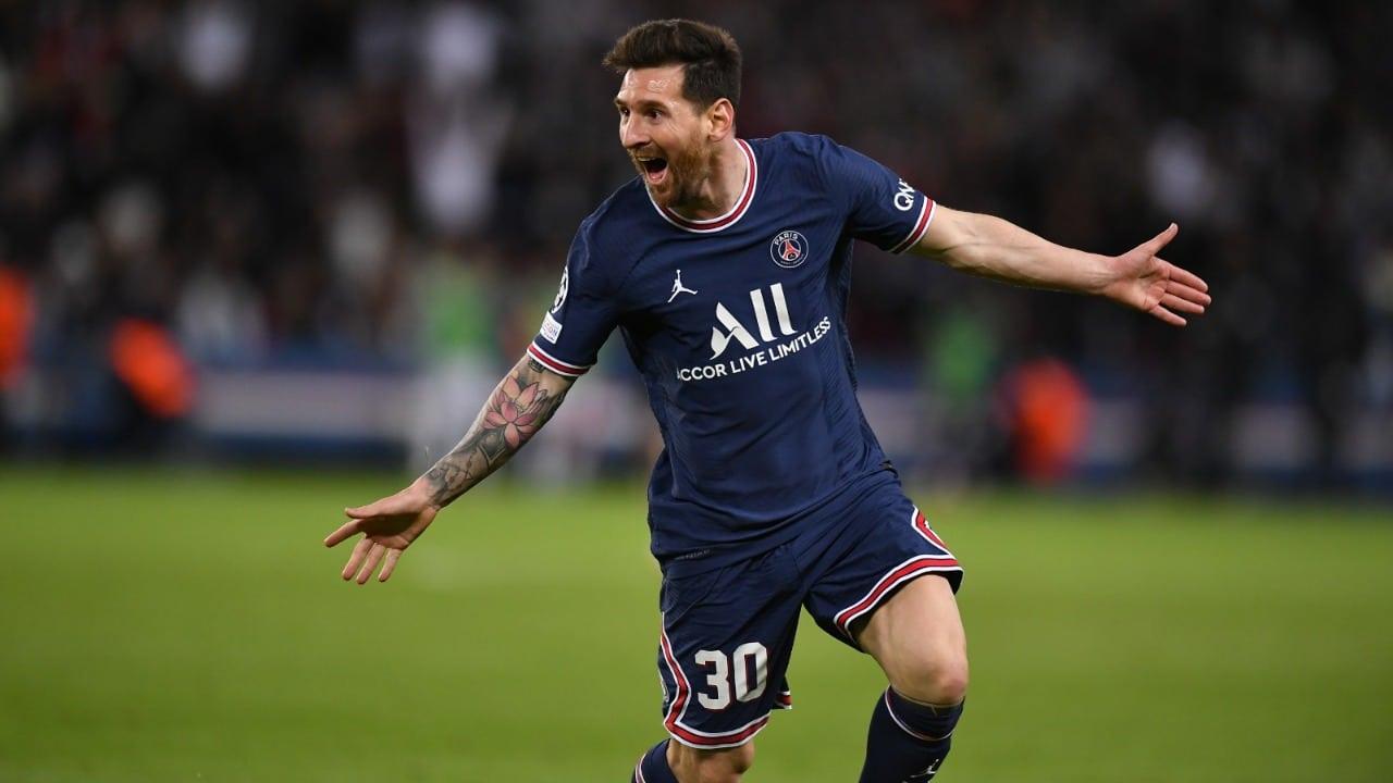 Así fue el primer gol de Messi con el PSG