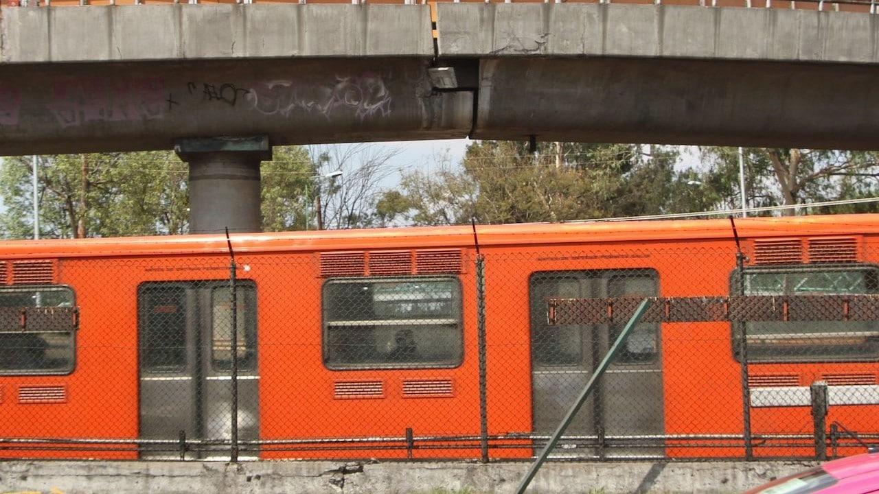 Vagones del Metro de la Línea B en la Ciudad de México (Cuartoscuro)