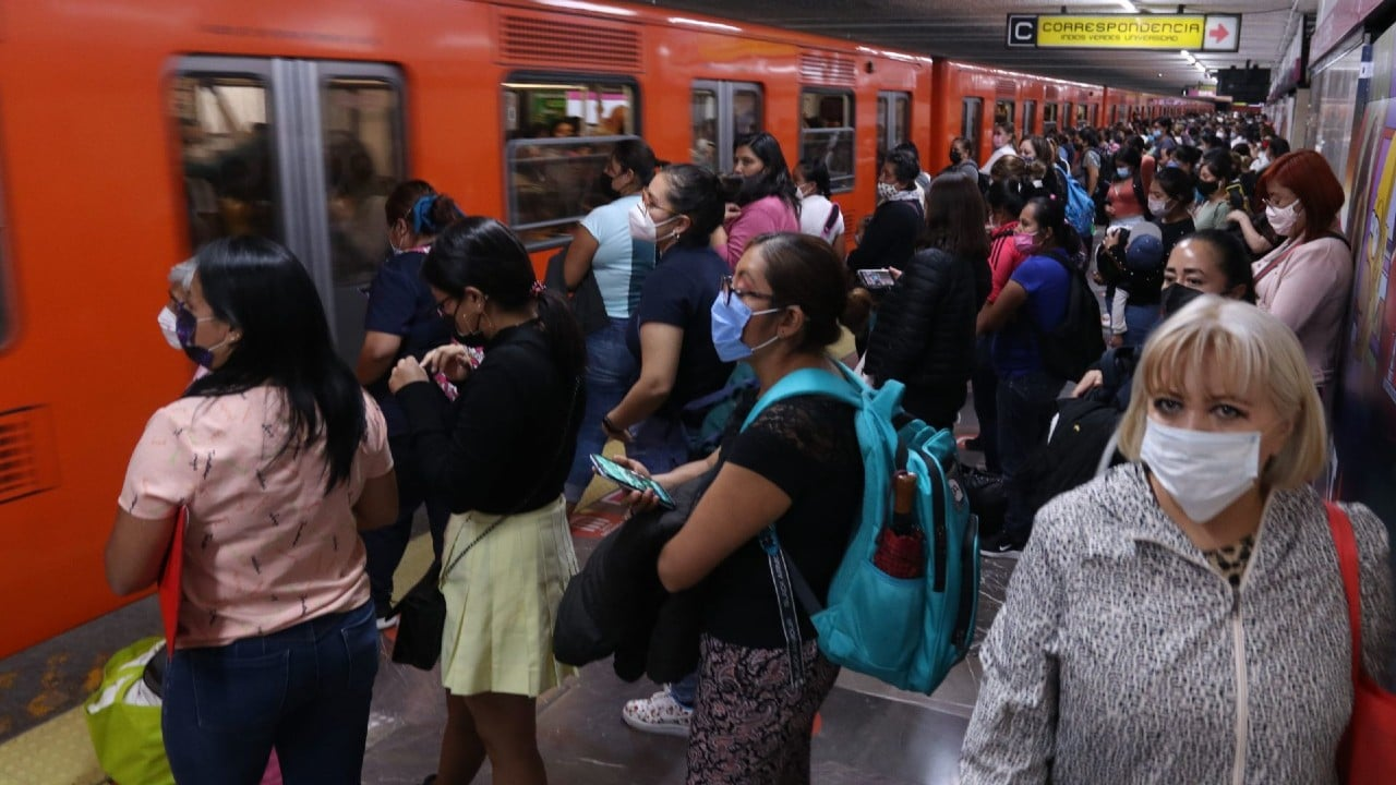metro, transporte público, afluencia, fiestas patrias